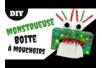 Boite à mouchoirs Monstre rigolo - Activités enfantines – 10doigts.fr