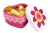 Boîte coeur en terre cuite blanche - Supports en Céramique et Porcelaine – 10doigts.fr