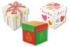 Boîtes carrées à monter - Lot de 4 - Boîtes en carton – 10doigts.fr