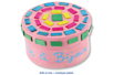 Mosaïques en bois couleurs vives - 500 pièces - Bâtonnets, tiges, languettes – 10doigts.fr