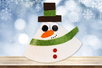 Bonhomme de neige à bascule - Noël – 10doigts.fr