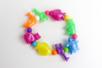 Perles animaux nacrées - 30 perles assorties - Perles enfants – 10doigts.fr