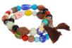 Perles artisanales Troja en céramique - Set de 40 - Pierres semi précieuses et minérales – 10doigts.fr