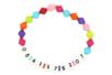 Perles chiffres rondes - 120 perles - Perles alphabet – 10doigts.fr