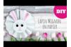 Lapin mignon en papier - Pâques – 10doigts.fr