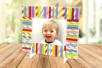 Pailles en carton - Set de 100 - Anniversaires – 10doigts.fr