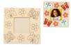 Cadre photo en bois à colorier - Cadres photos – 10doigts.fr