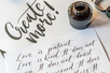 Porte-plumes + 6 Plumes Calligraphie - Calligraphie, Ecriture – 10doigts.fr