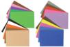Caoutchouc souple pailleté - 20 plaques adhésives assorties - Caoutchouc souple auto-adhésif - 10doigts.fr