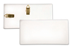 Plaque rectangulaire en terre cuite blanche - Supports en Céramique et Porcelaine – 10doigts.fr