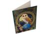Broderie diamant Chouette - Carte 21 x 29 cm - Broderie Diamant – 10doigts.fr