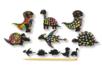 Cartes à gratter thème Dinosaure + accessoires - 6 formes - Cartes à gratter – 10doigts.fr