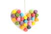Coeur en flocons de maïs à supendre - Flocons de maïs – 10doigts.fr