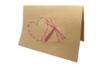 Carte en piquage sur feutrine brodée - Broderie, tressage – 10doigts.fr
