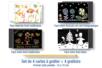 Cartes à gratter assorties + grattoirs - 4 cartes - Carte à gratter - 10doigts.fr