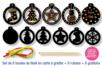 Boules de Noël en carte à gratter - Cartes à gratter - 10doigts.fr