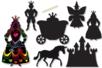 Cartes à gratter thème Princesse + accessoires - 6 formes - Cartes à gratter – 10doigts.fr