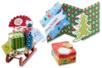 Cartes fortes motifs de Noël - set de 20 - Nouveautés – 10doigts.fr