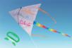 Cerf-Volant à décorer - Support blanc – 10doigts.fr