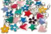 Set de 20 charm's en métal - Perles intercalaires & charm's - 10doigts.fr