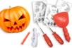 Kit pour creuser une citrouille + modèles - Halloween - 10doigts.fr