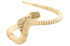 Cobra articulé en bois naturel - Animaux 3D – 10doigts.fr