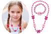 """Parure bijoux  bracelet et collier """"Fleurs"""" - Kit pour 1 parure - Bijoux - 10doigts.fr"""