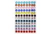 Couronnes de Noël Mandalas à colorier + strass - Coloriages – 10doigts.fr
