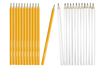 Crayons graphite hexagonaux HB - Lot de 12 - Crayons graphite - 10doigts.fr