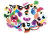 Eléments décoratifs pour ballons - Visages rigolos - Ballons, guirlandes, serpentins – 10doigts.fr