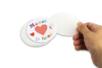 Dessous de verre à personnaliser - 6 pièces - Transparent – 10doigts.fr