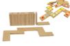 Dominos en bois - 28 pièces - Pièces de construction – 10doigts.fr
