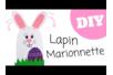 Marionnette Lapin - Pâques – 10doigts.fr