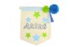 Fanion en coton - Support textile à customiser – 10doigts.fr