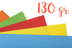 Papiers légers teintés (130 gr) 50 x 70 cm - Couleurs au choix - Papiers Grands Formats - 10doigts.fr