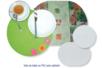 Feuille de PVC translucide (Polyphane) - 33 x 43 cm - Feuilles en plastique – 10doigts.fr