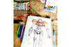 Feutres pinceaux aquarellables - Set de 12 - Feutres fantaisie – 10doigts.fr