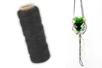 Cordelette en coton noir - 30 m - Cordes naturelles – 10doigts.fr