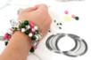Fil mémoire de forme - bracelet ou collier - Bracelets - 10doigts.fr