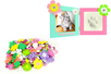Stickers fleurs en caoutchouc mousse - 400 pièces - Fleurs et feuilles – 10doigts.fr