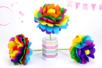 Faire une fleur en papier : méthode facile - Activités enfantines – 10doigts.fr
