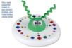 Frisbee à décorer - Support blanc – 10doigts.fr