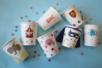 Gobelets en carton blanc - Anniversaires – 10doigts.fr