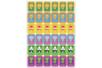 Pack gommettes apprentissage - 788 gommettes - Gommettes Animaux – 10doigts.fr