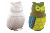 Hibou en polystyrène 15 cm - Animaux Polystyrène - 10doigts.fr