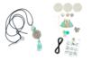 Sautoirs pastel - Kit pour 3 réalisations - Colliers – 10doigts.fr