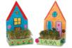 Maisons jardinières - Lot de 6 - Support blanc – 10doigts.fr