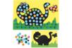 Carte mosaïques Dinosaure - Mosaïques adhésives – 10doigts.fr