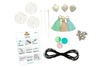 Kit pour fabriquer 3 sautoirs pastel - Colliers – 10doigts.fr