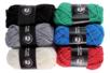 Pelotes de laine polyester, couleurs classiques - Set de 6 - Laine - 10doigts.fr